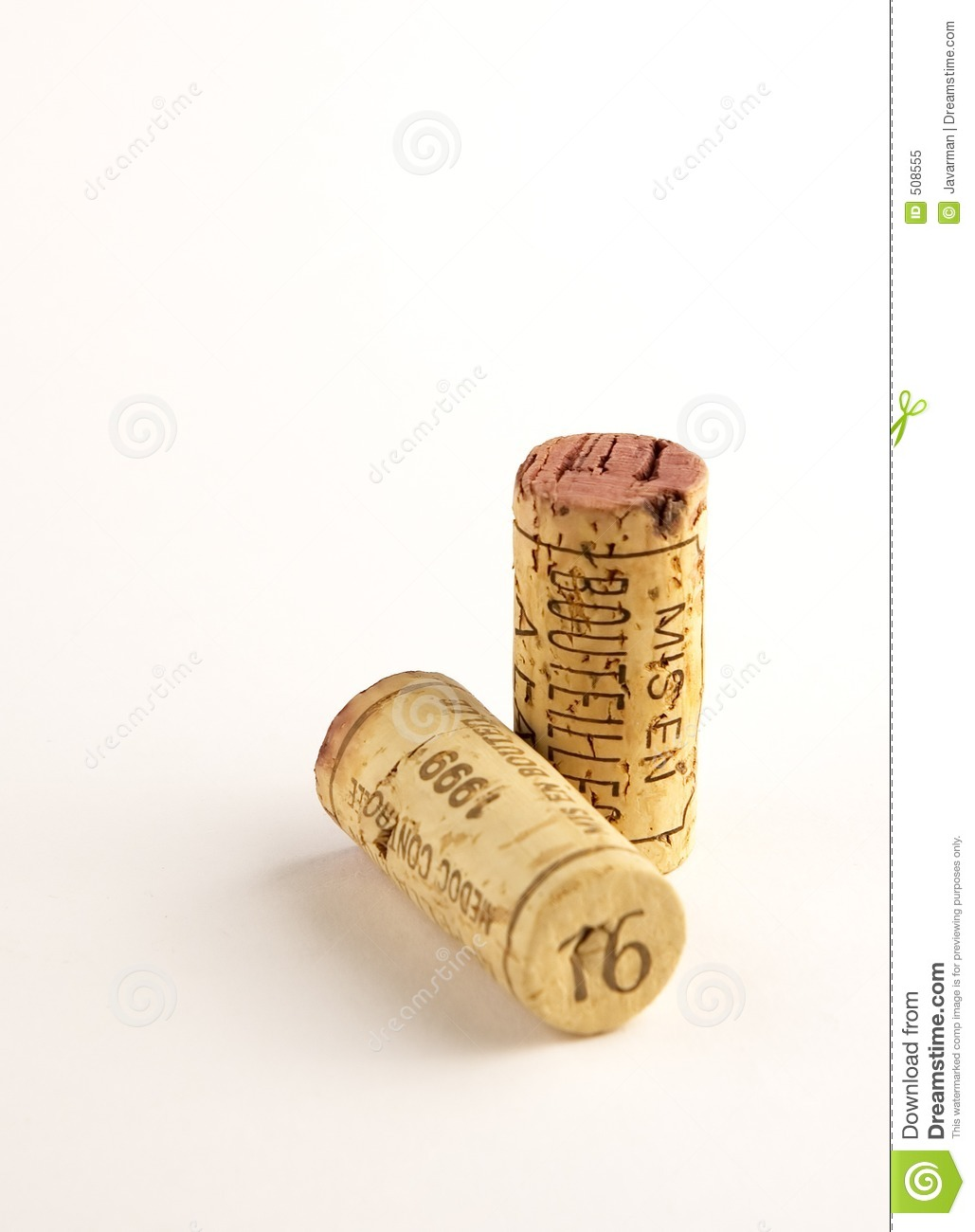 Two corks