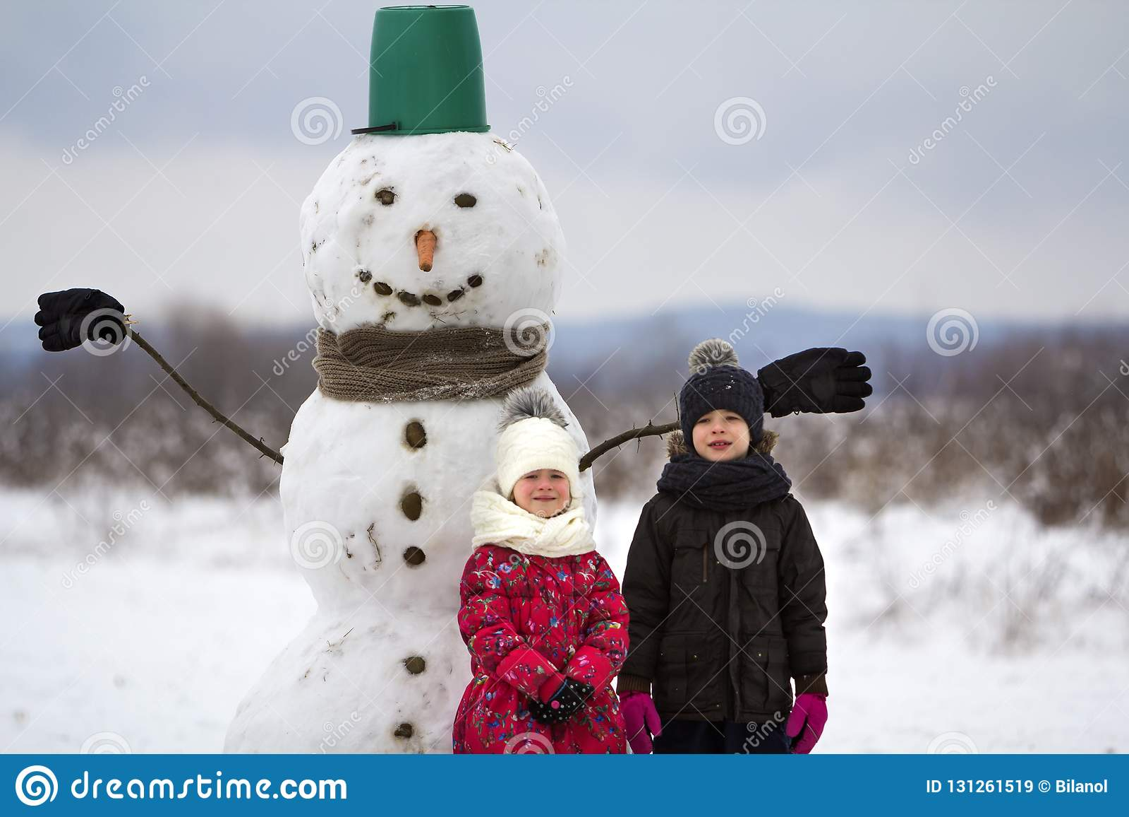 cdb8afc3a62 Two Cute Children