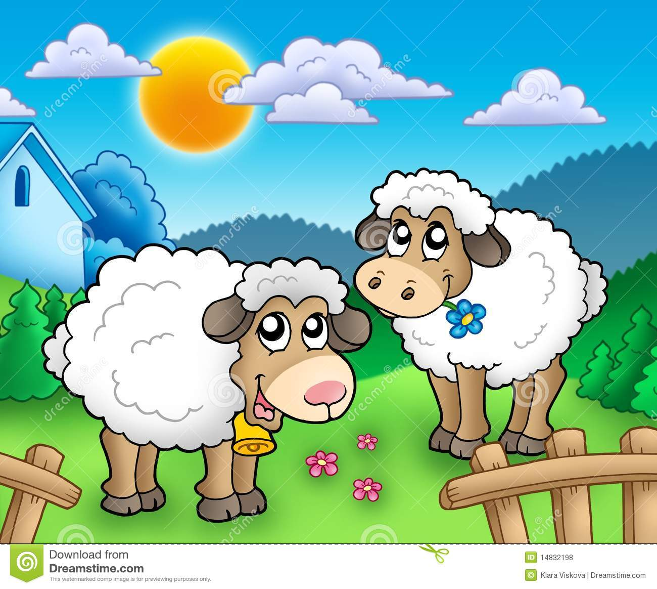 Cute Farm Clipart