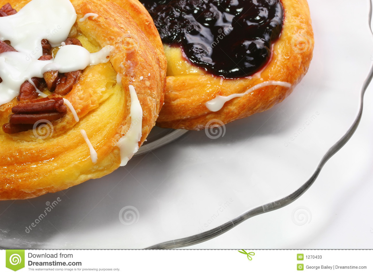 Two danishes