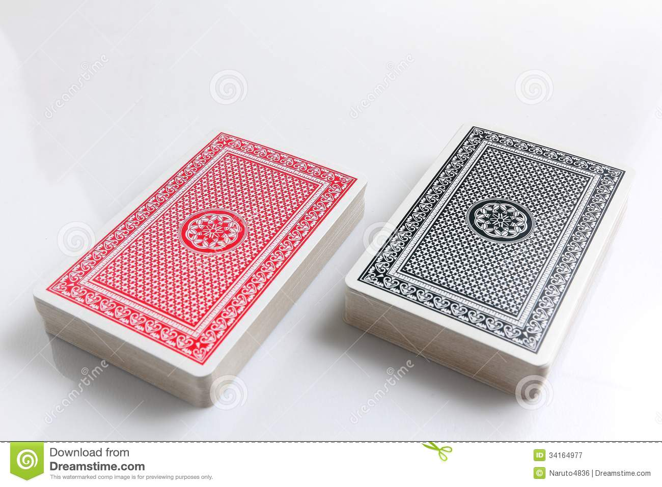 Two deck of cards