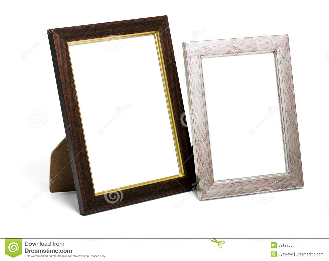 Two Desktop Picture Frames Stock Image Image Of Frame