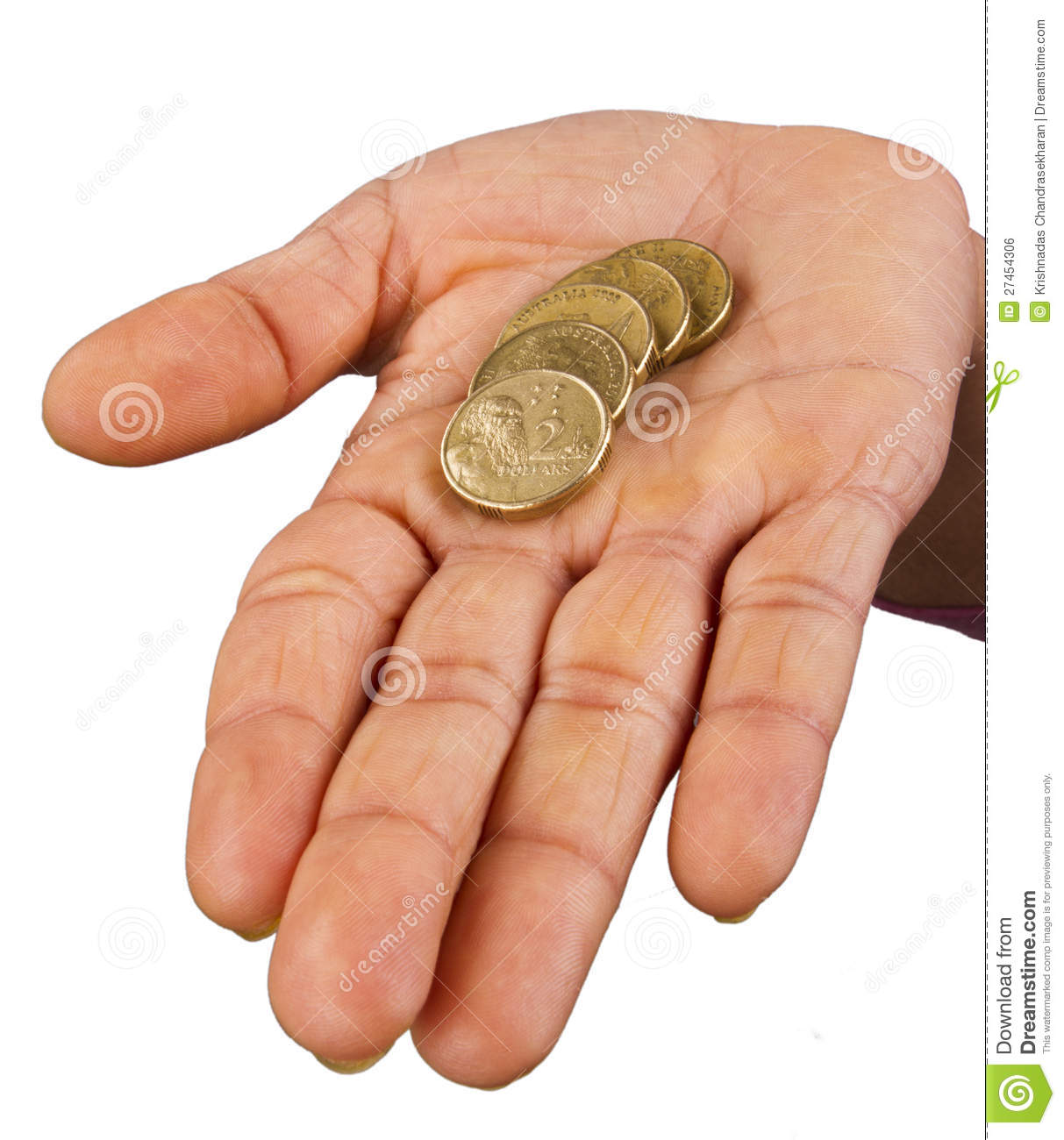 Two hand with coins royalty free stock photo for Ohrensessel 2 hand