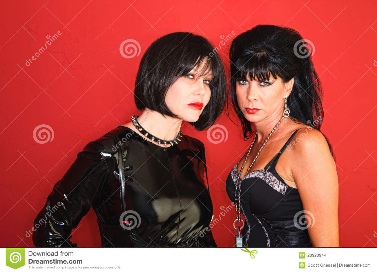 Two Dominatrix Women