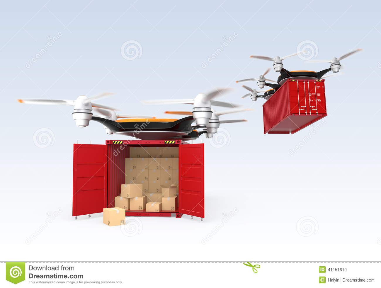 multirotor helicopter with Stock Photo Two Drone Carrying Cargo Containers Drones Container One Container Opened Concept Fast Delivery Image41151610 on E Volo Vc200 Le Multirotor Vert likewise Tricopter in addition Mind Blowing Drone Innovations furthermore Stock Photo Drone Carrying Pizza Fast Food Delivery Concept Image46632013 together with Tarot X4 Quadcopter Frame Set.