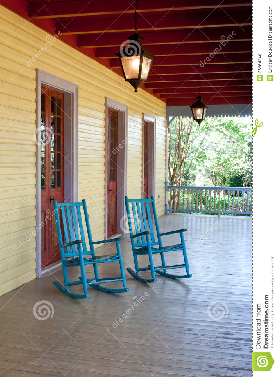 Download Two empty rocking chairs stock photo. Image of rustic - 36664340 & Two empty rocking chairs stock photo. Image of rustic - 36664340