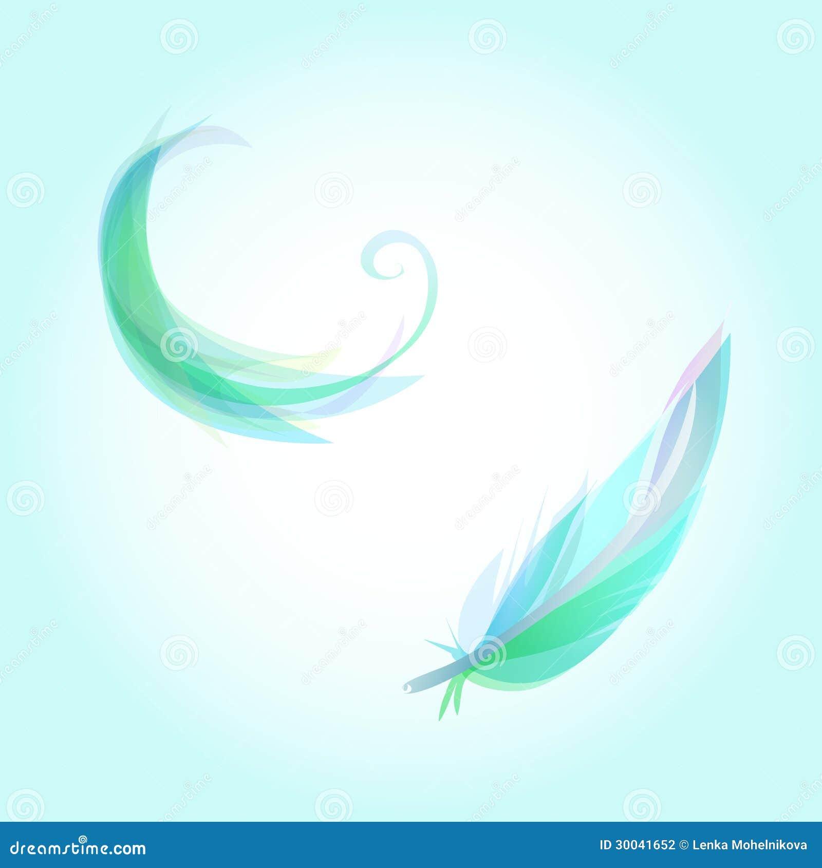 falling feathers stock illustration illustration of purity 30041652