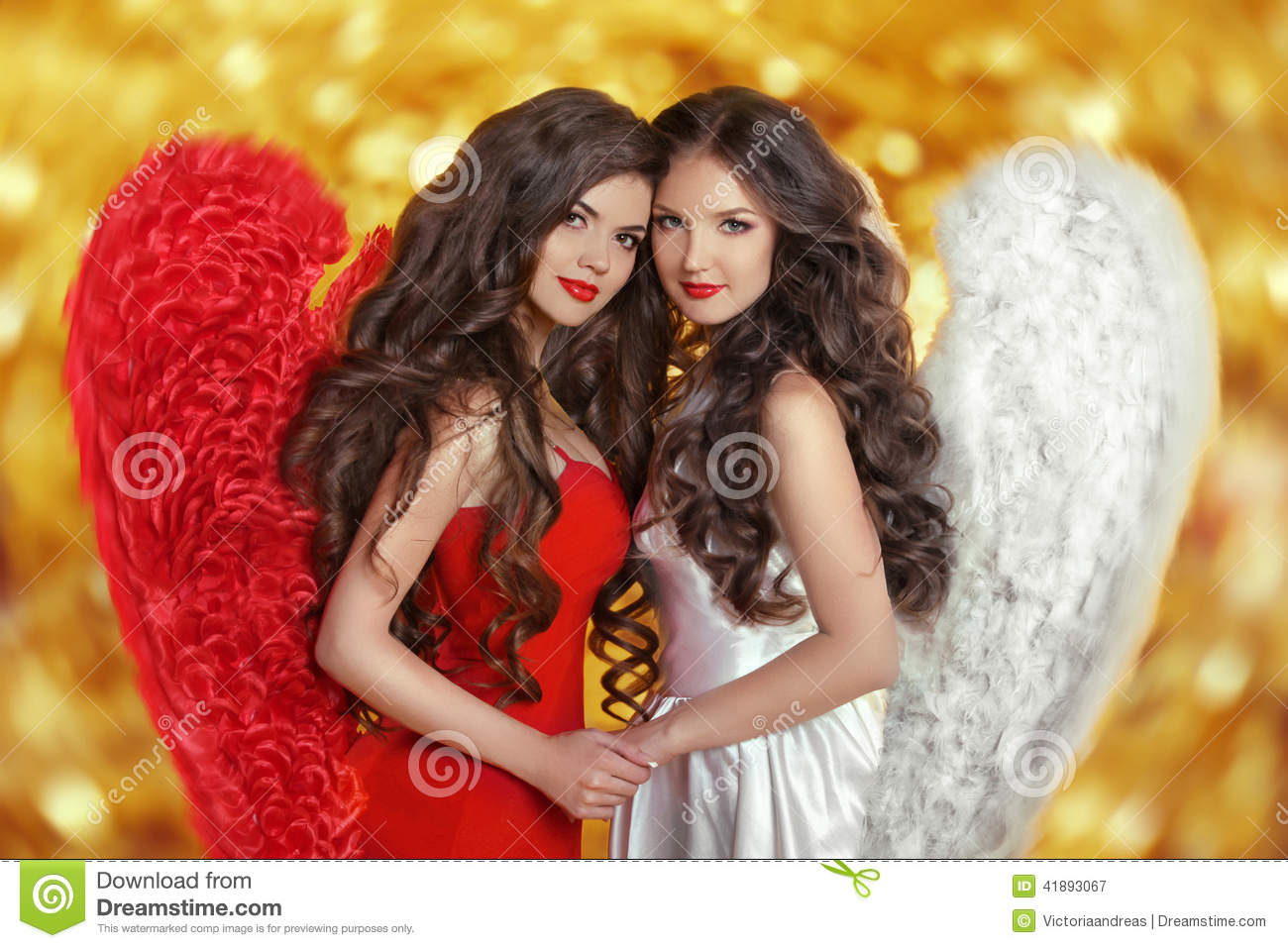 Two Angels Royalty Free Stock Photo 82989597