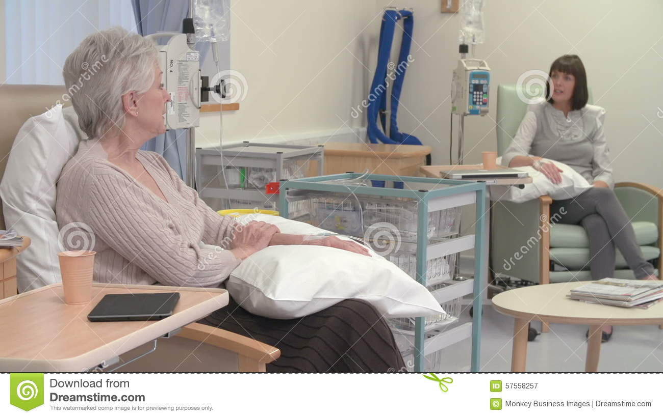 Image result for image of two people talking during chemo
