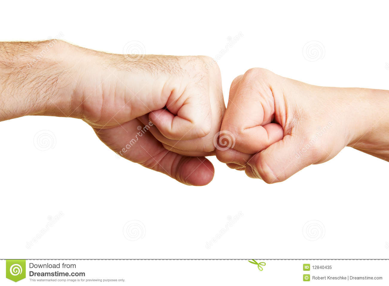 Two Fists Punching Royalty Free Stock Photo Image 12840435