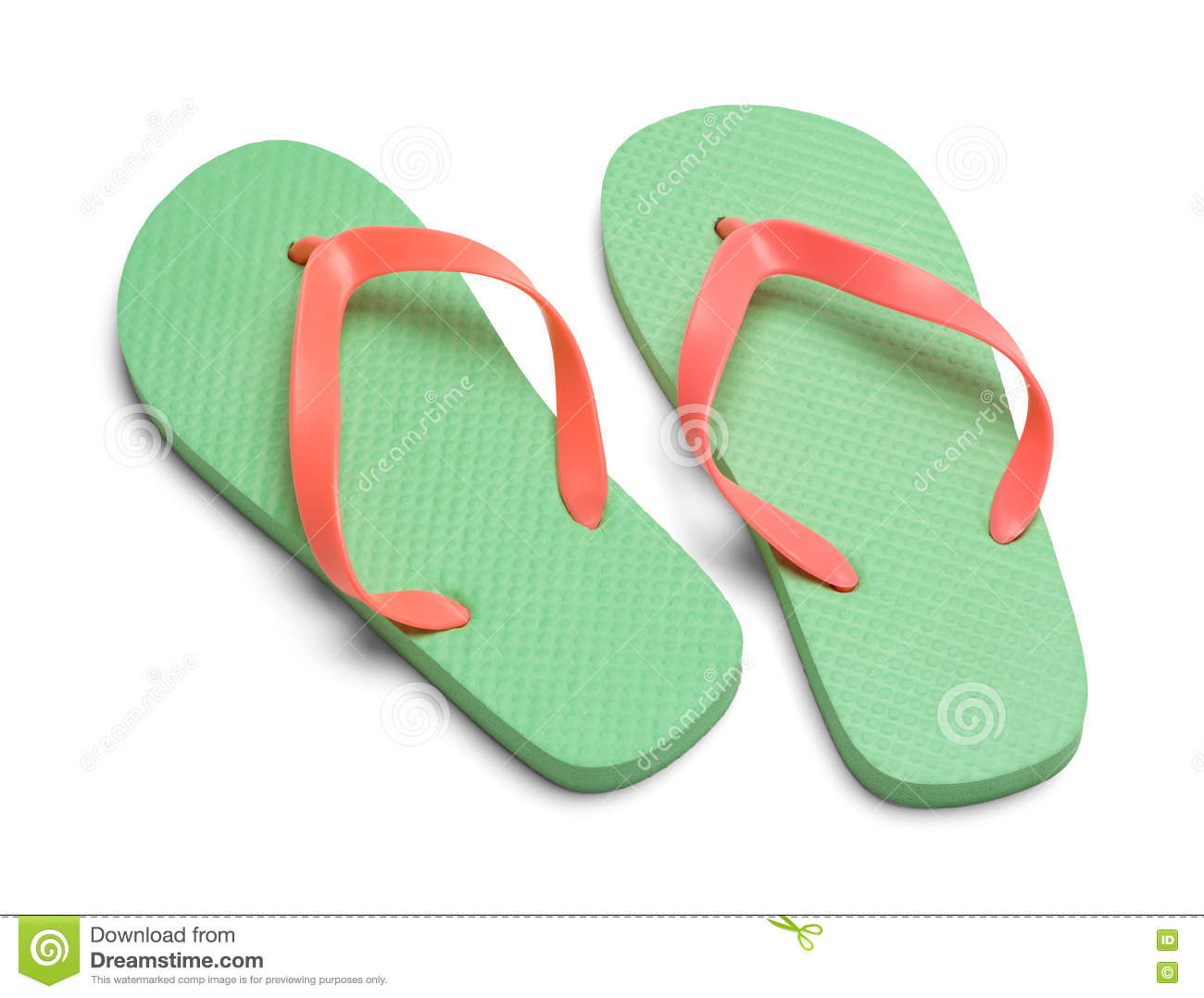 039eef20360af1 Two Flip Flops stock image. Image of sandals