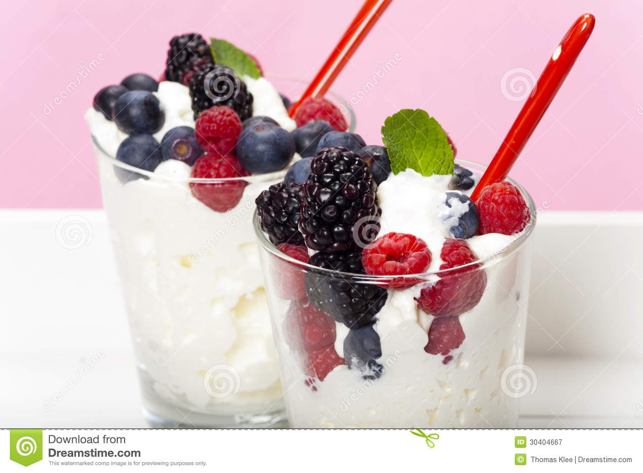 Faisselle Mousse With Fresh Berries Recipes — Dishmaps