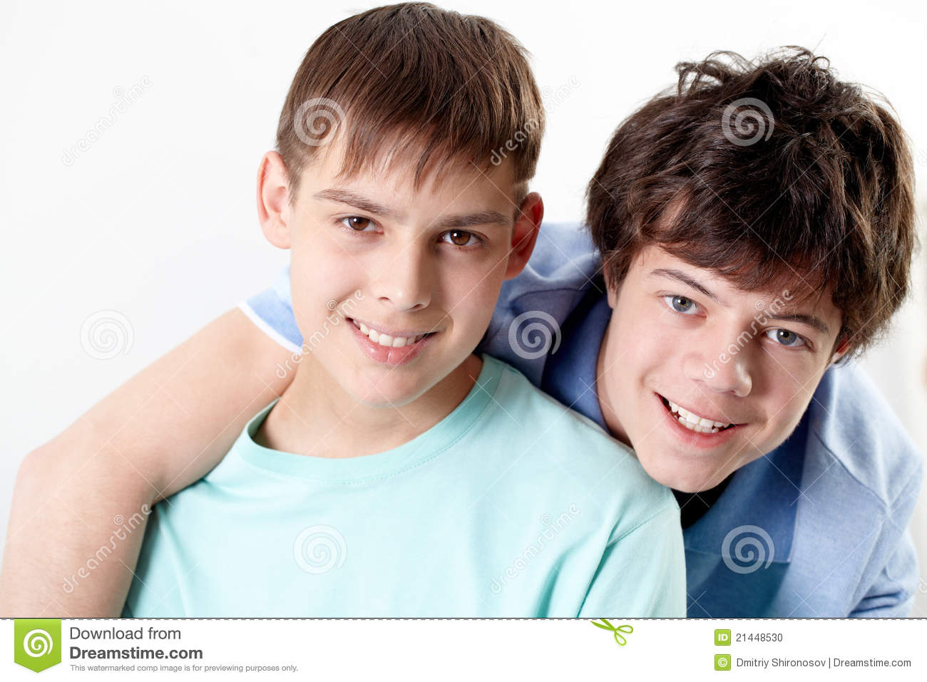 Two Friends Stock Photo - Image: 21448530