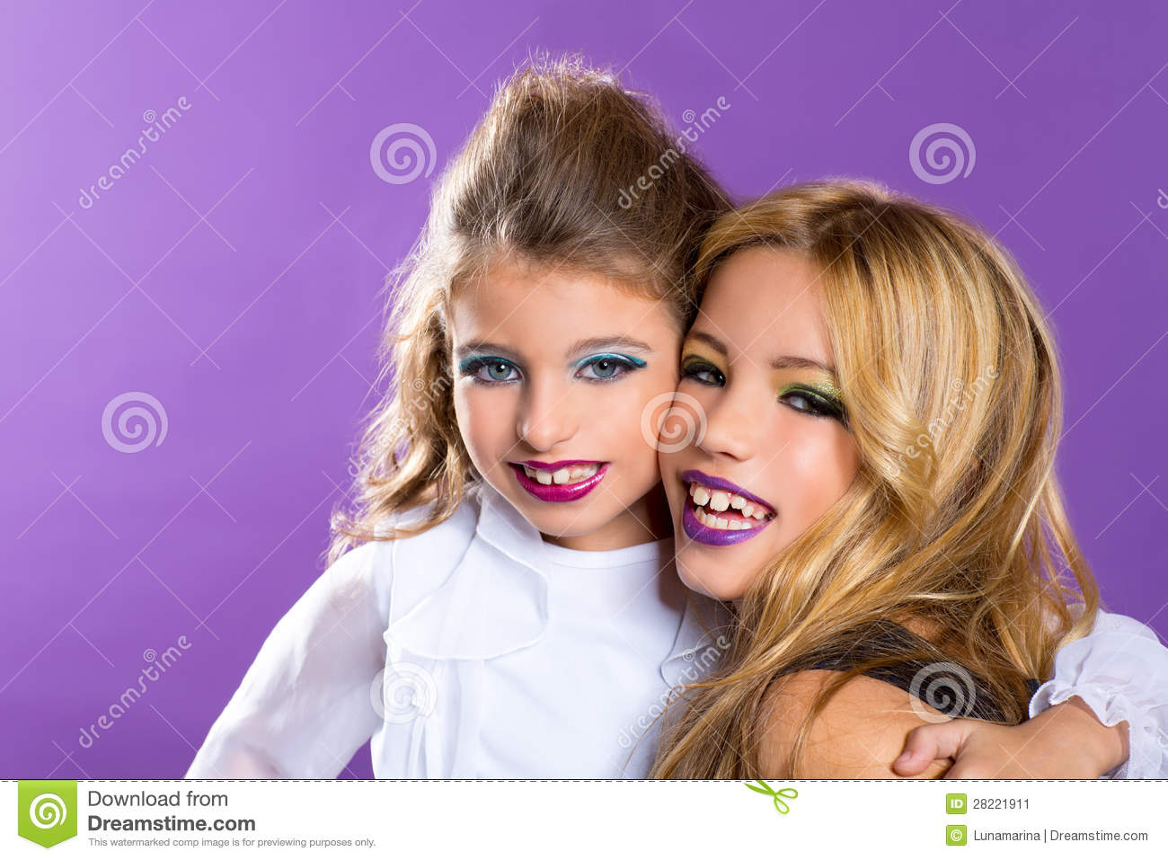 2 girls at cosmetics shop 2