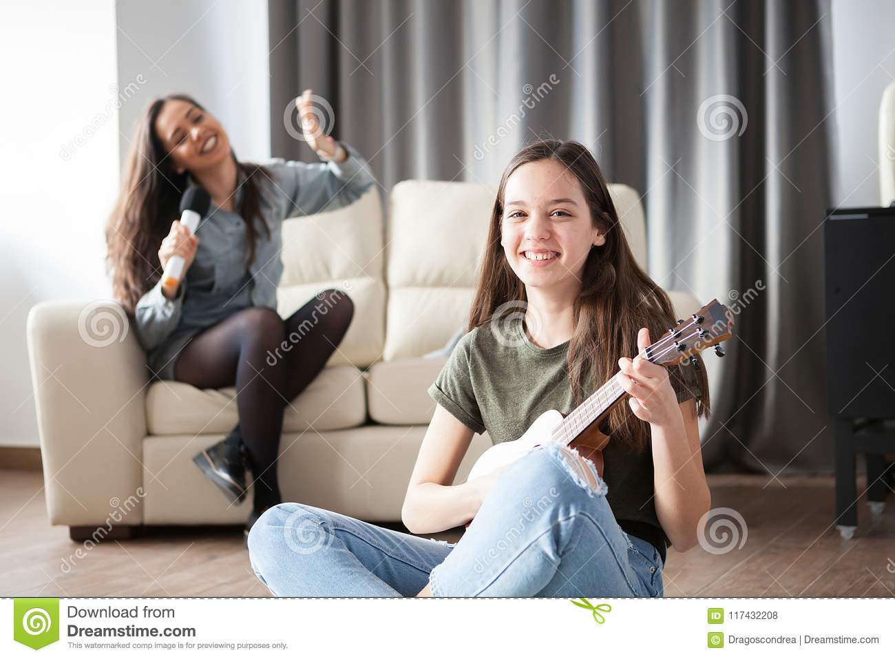 Royalty Free Stock Photo Two Friends One Teenager