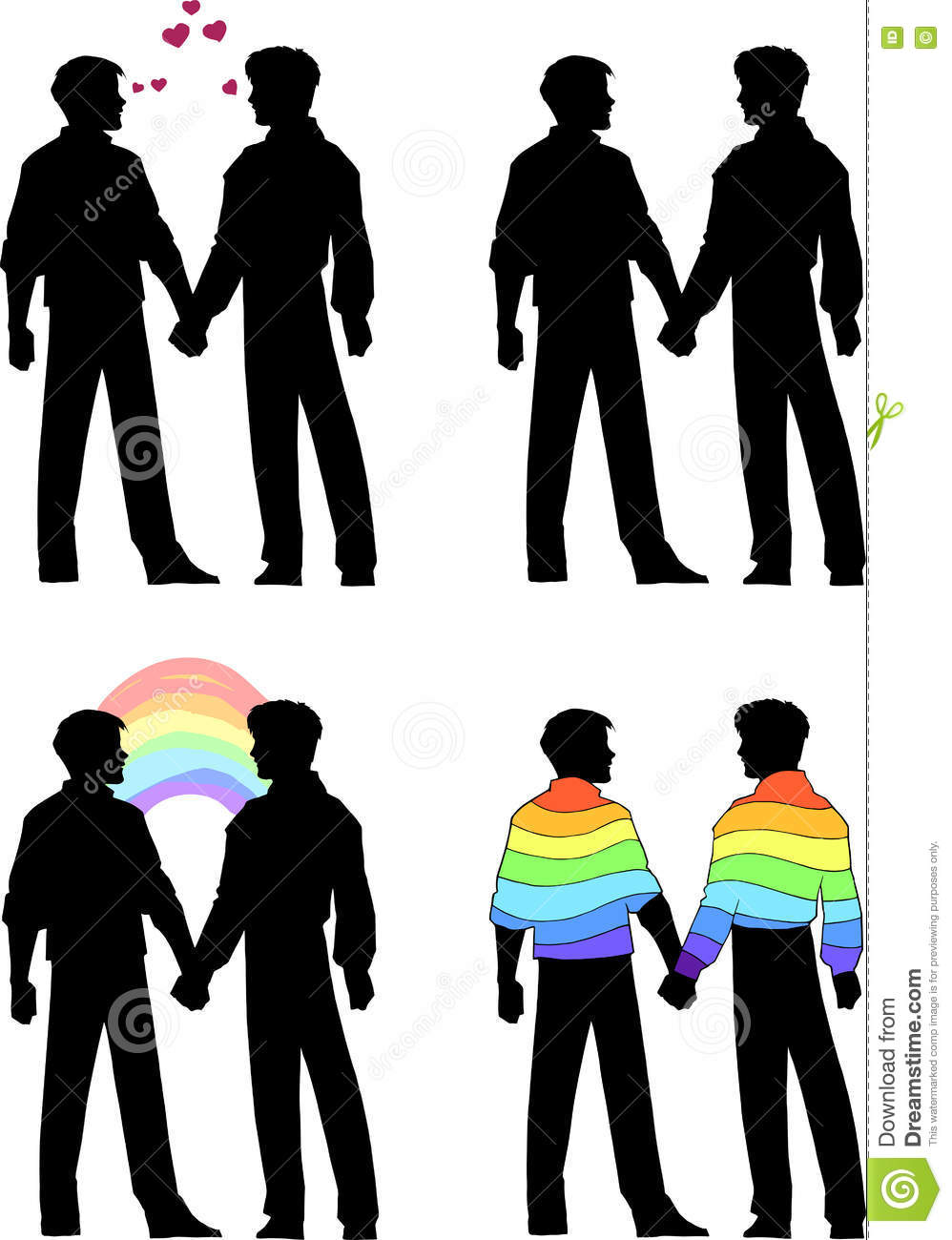 Two men holding hands marriage prayer