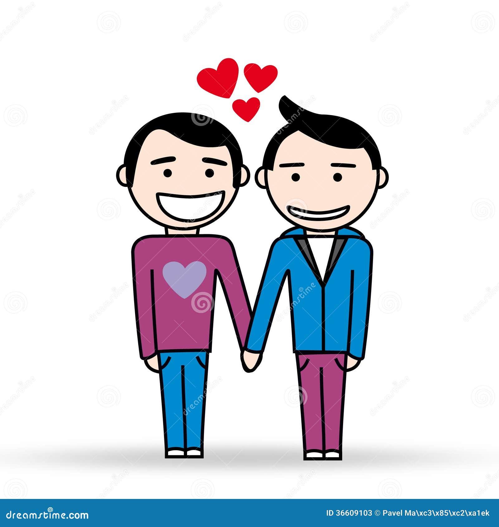 Anime gay couple romance kissing and bareback 8