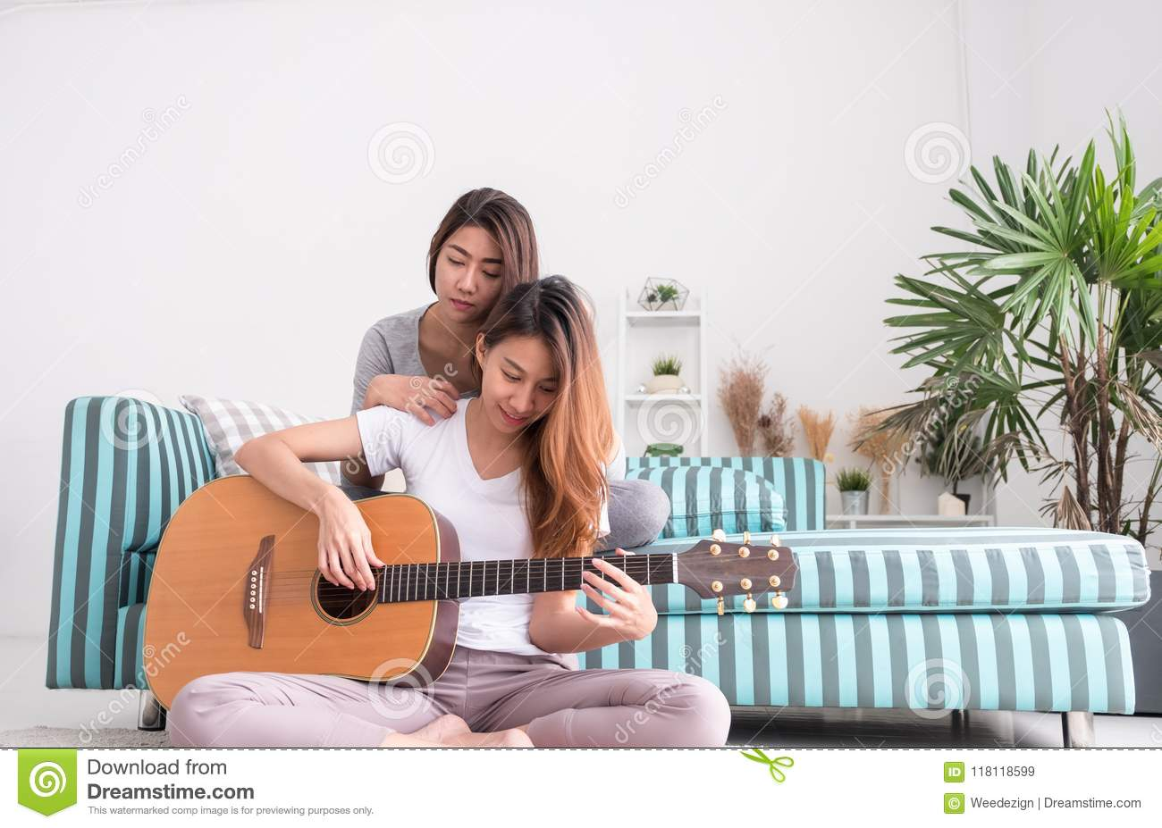 With you lesbian guitar silhouette above told