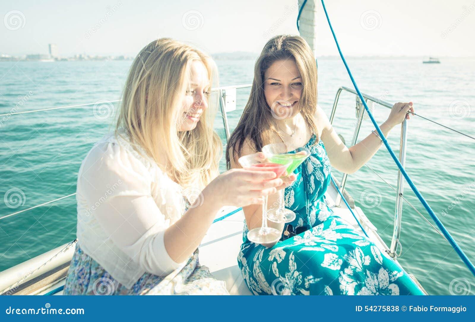 Two Girl Having Fun
