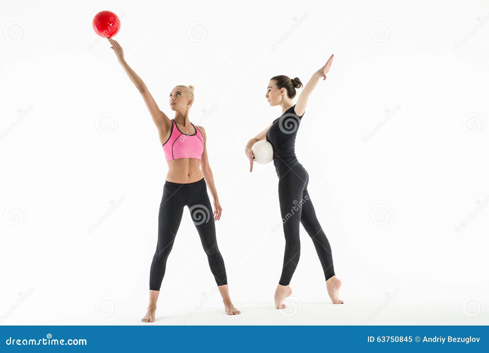 flexible sport girl photo