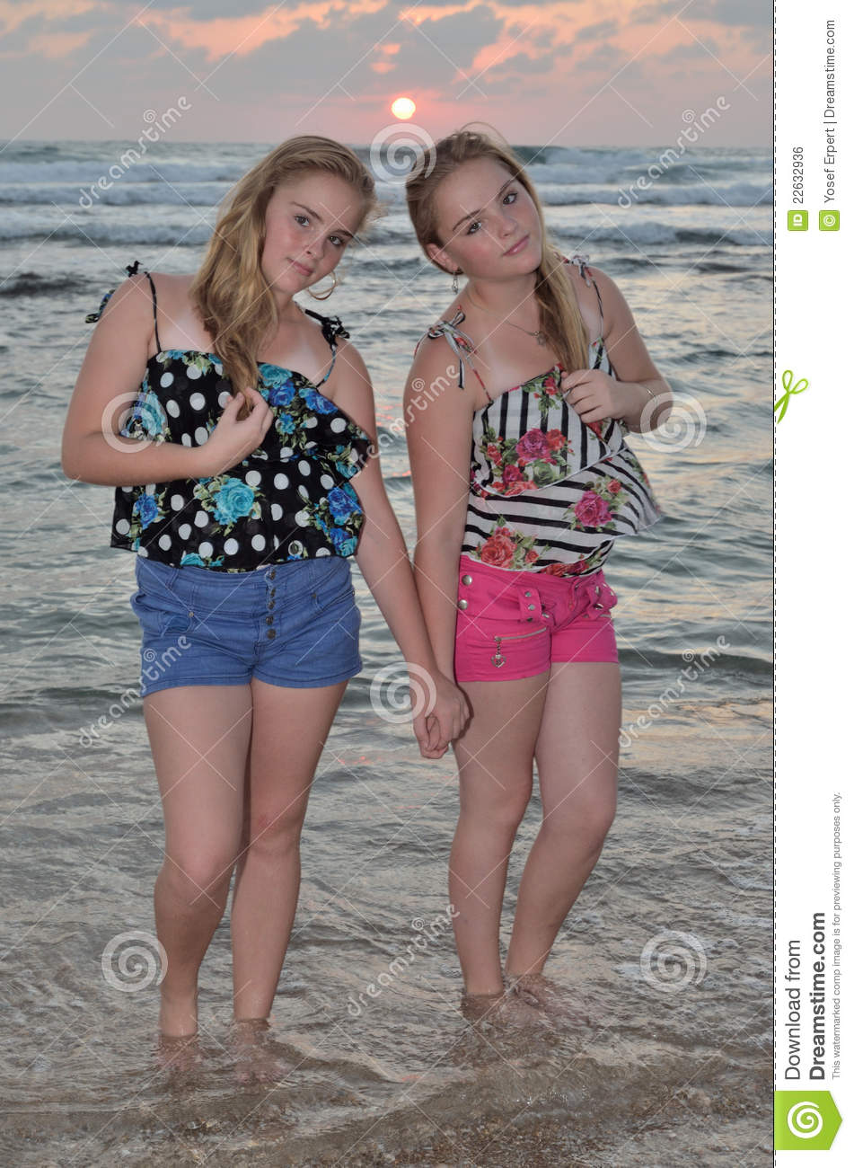 Blonde teen girls beach can recommend