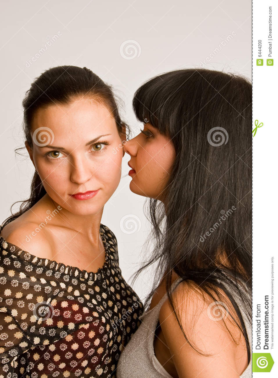 Two on one lesbian