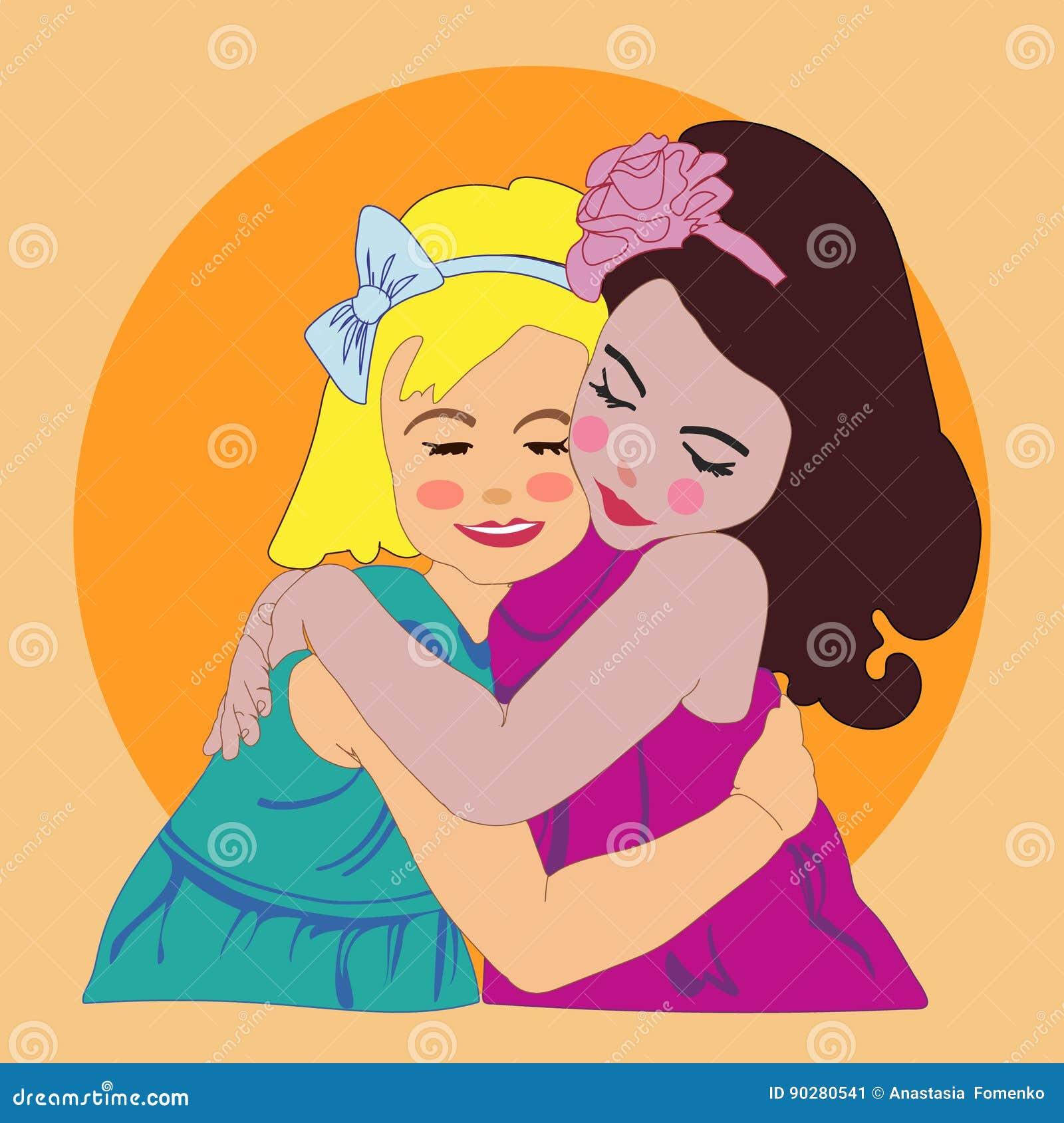 Two girls girls