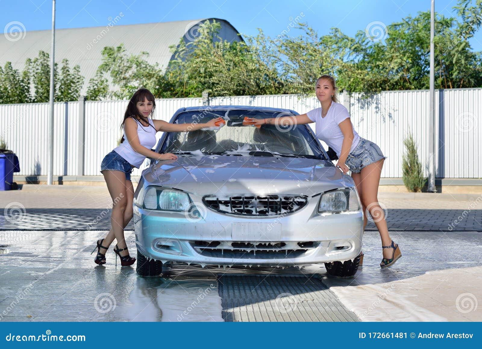 Girls car wash Car Washes