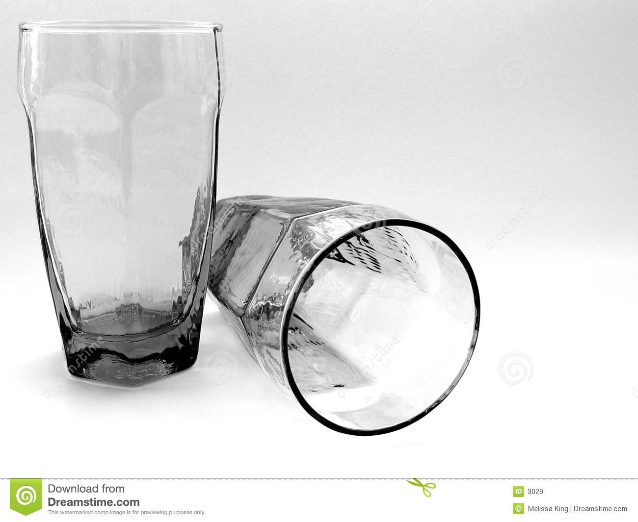 Two Glasses Together