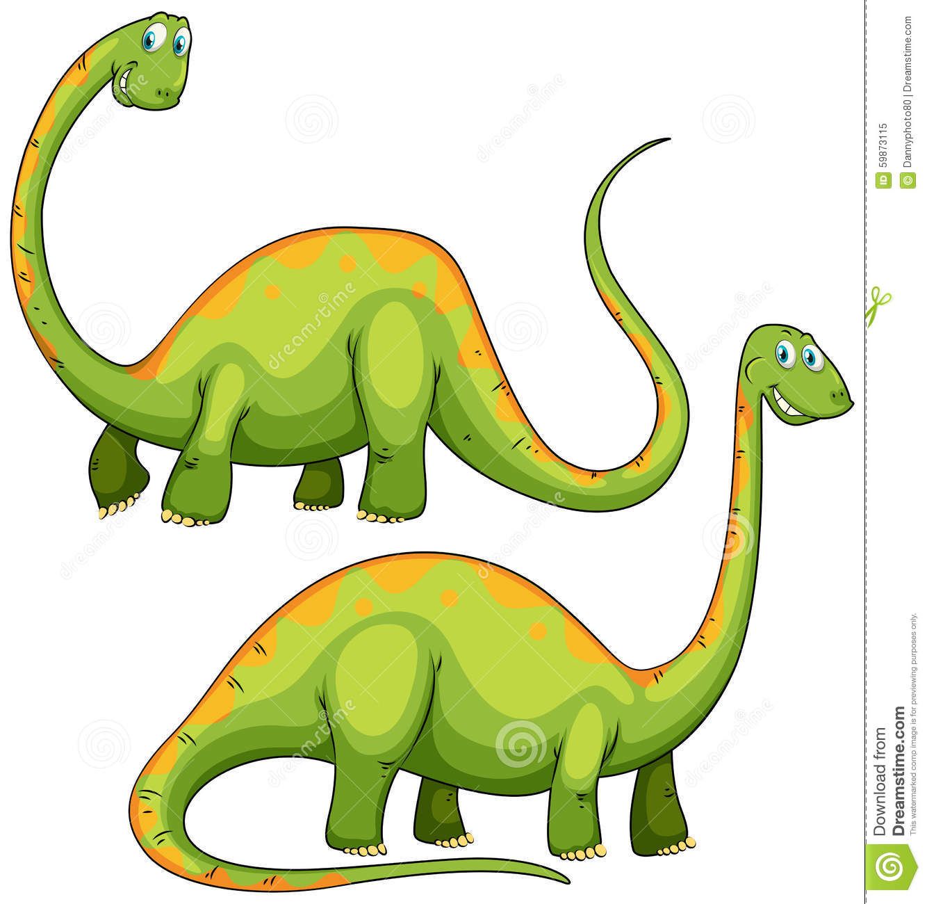 two green dinosaurs smiling stock vector image 59873115 t rex clipart black and white t rex clipart images