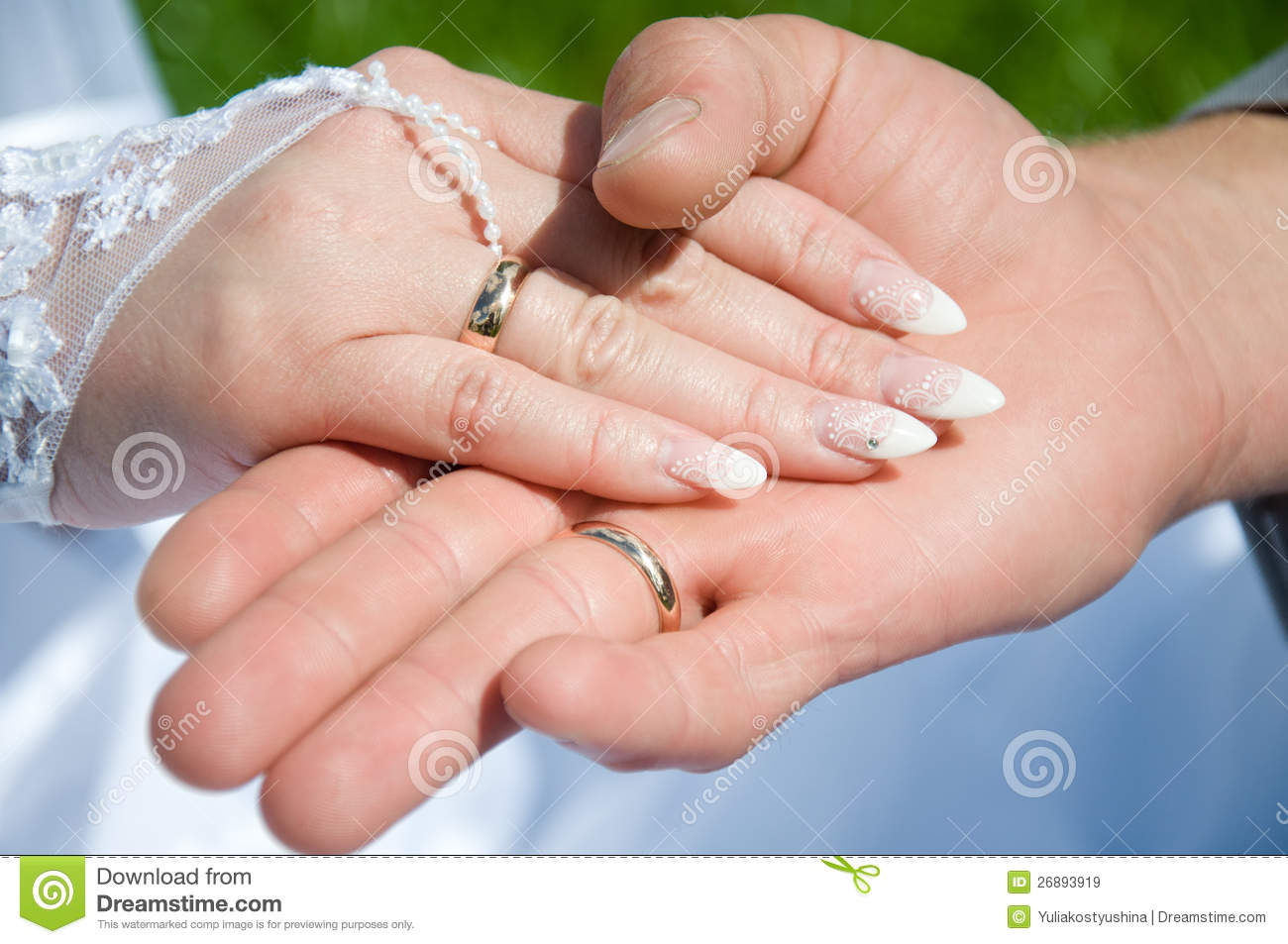 Two hand with wedding ring stock image. Image of person - 26893919