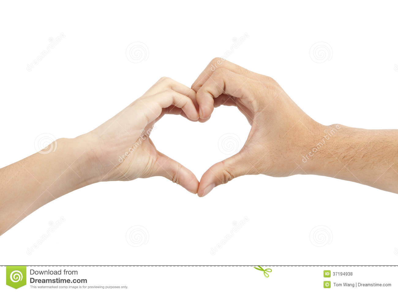 making heart by hands - photo #10