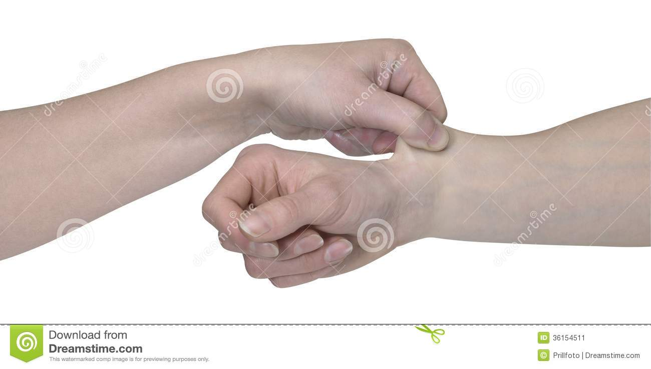 Two Hands And A Pinch Stock Image - Image: 36154511 Vintage Border Vector