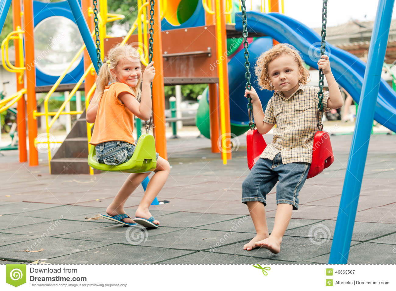 Children Playing Outside On Playground | www.pixshark.com ...