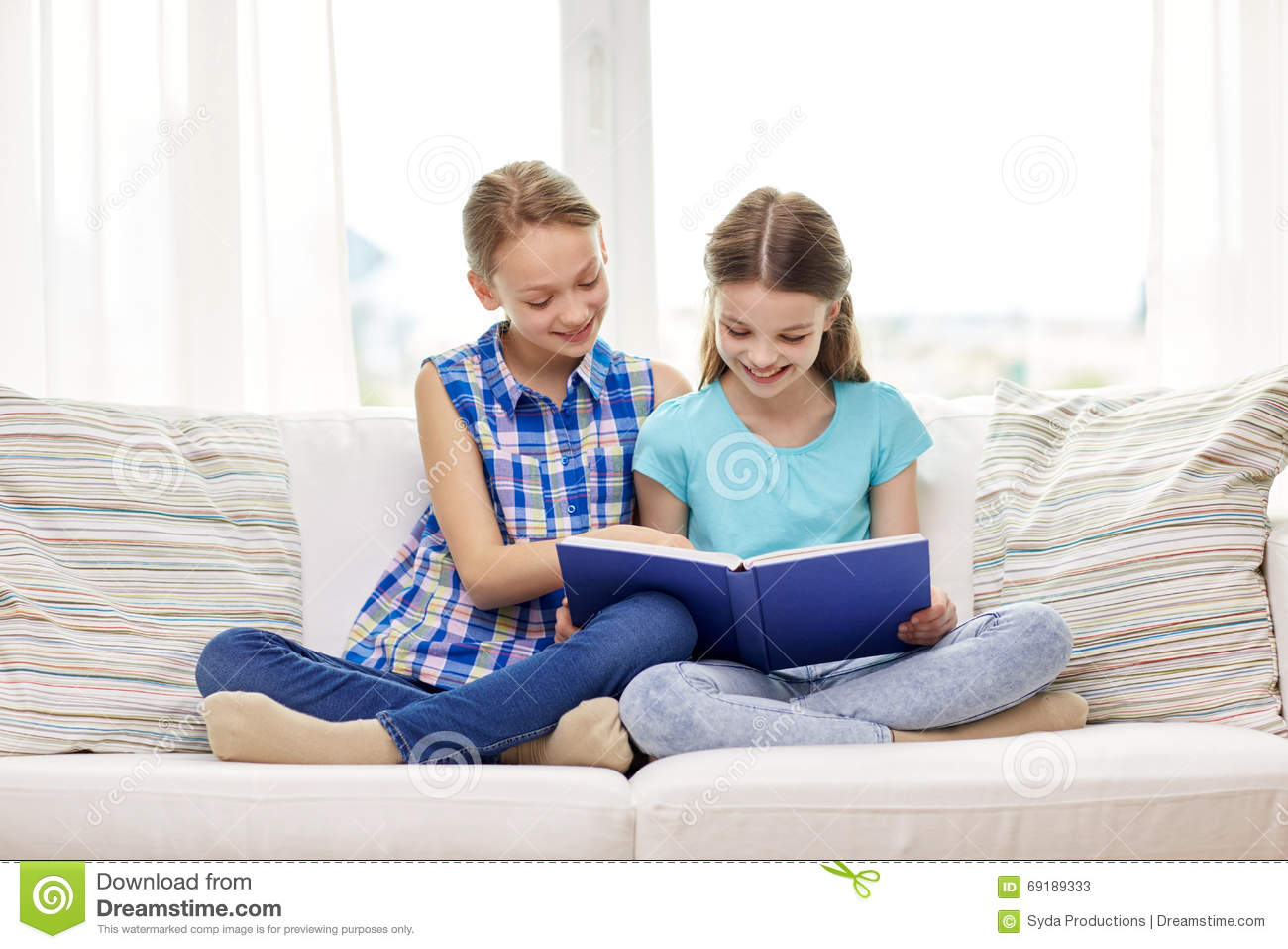 2 girls reading a dirty magazine - 2 3