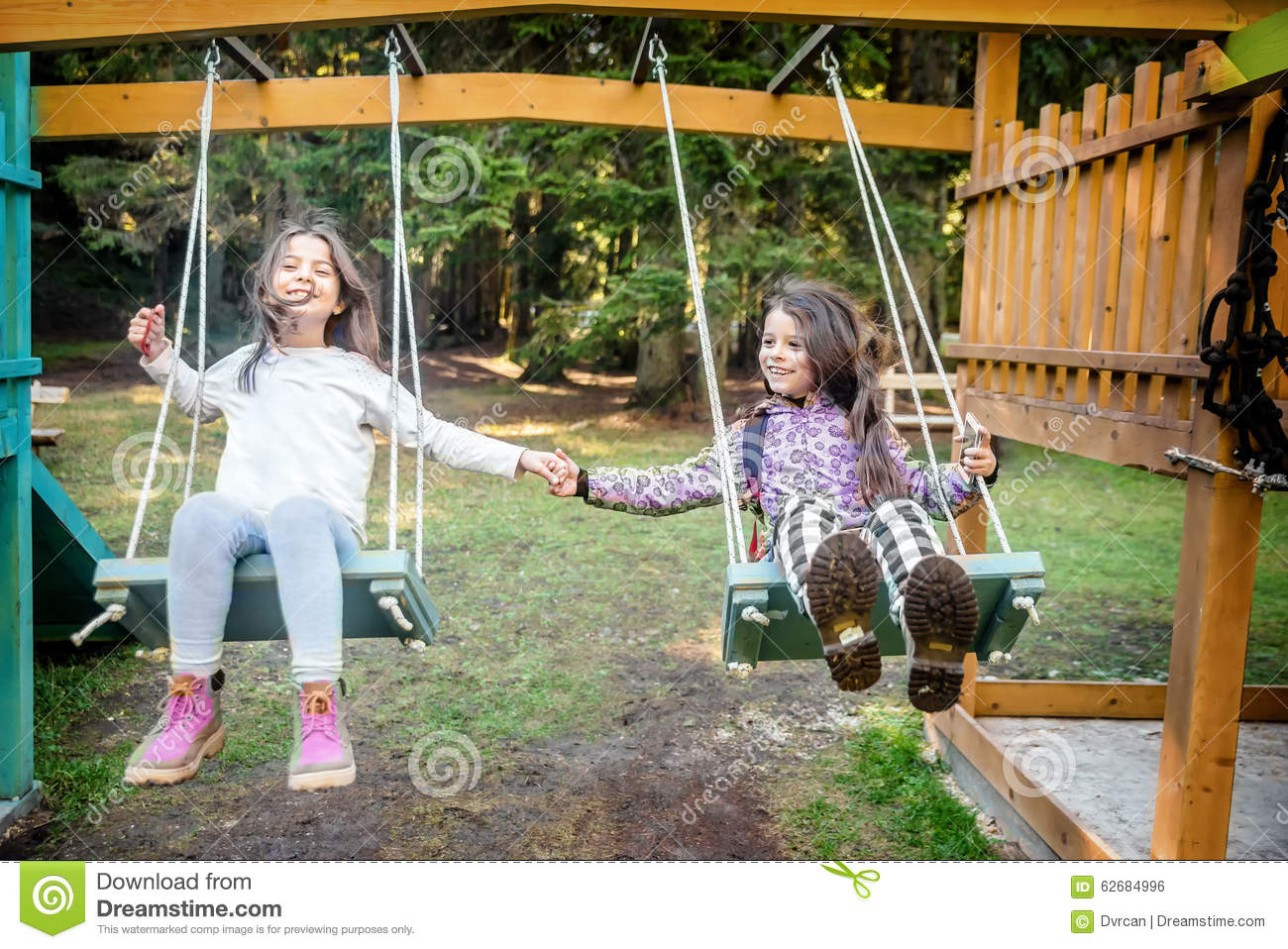 Swinging at the playground rather valuable