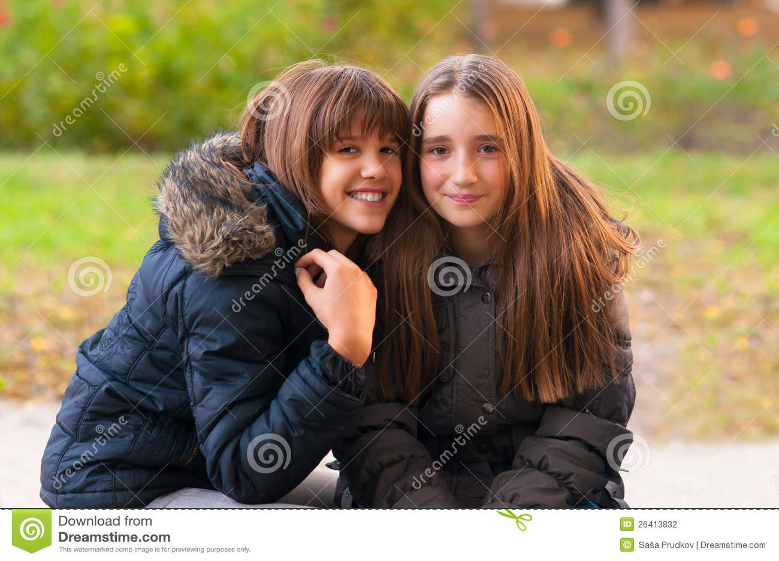 2 girls having fun in shower long hair hair 9