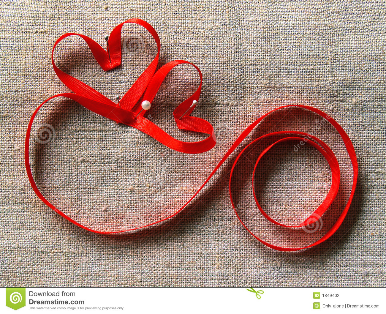 two hearts and lock stock photo image of card band sweetheart