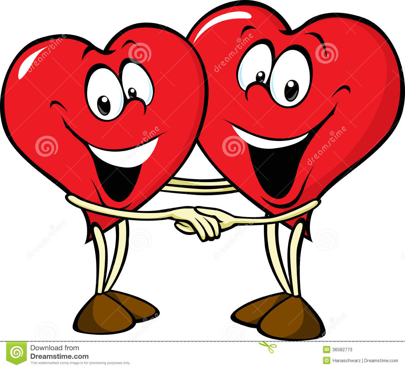 Two Hearts In Love Stock Photos Image: 36582773 - 1300x1186 - jpeg