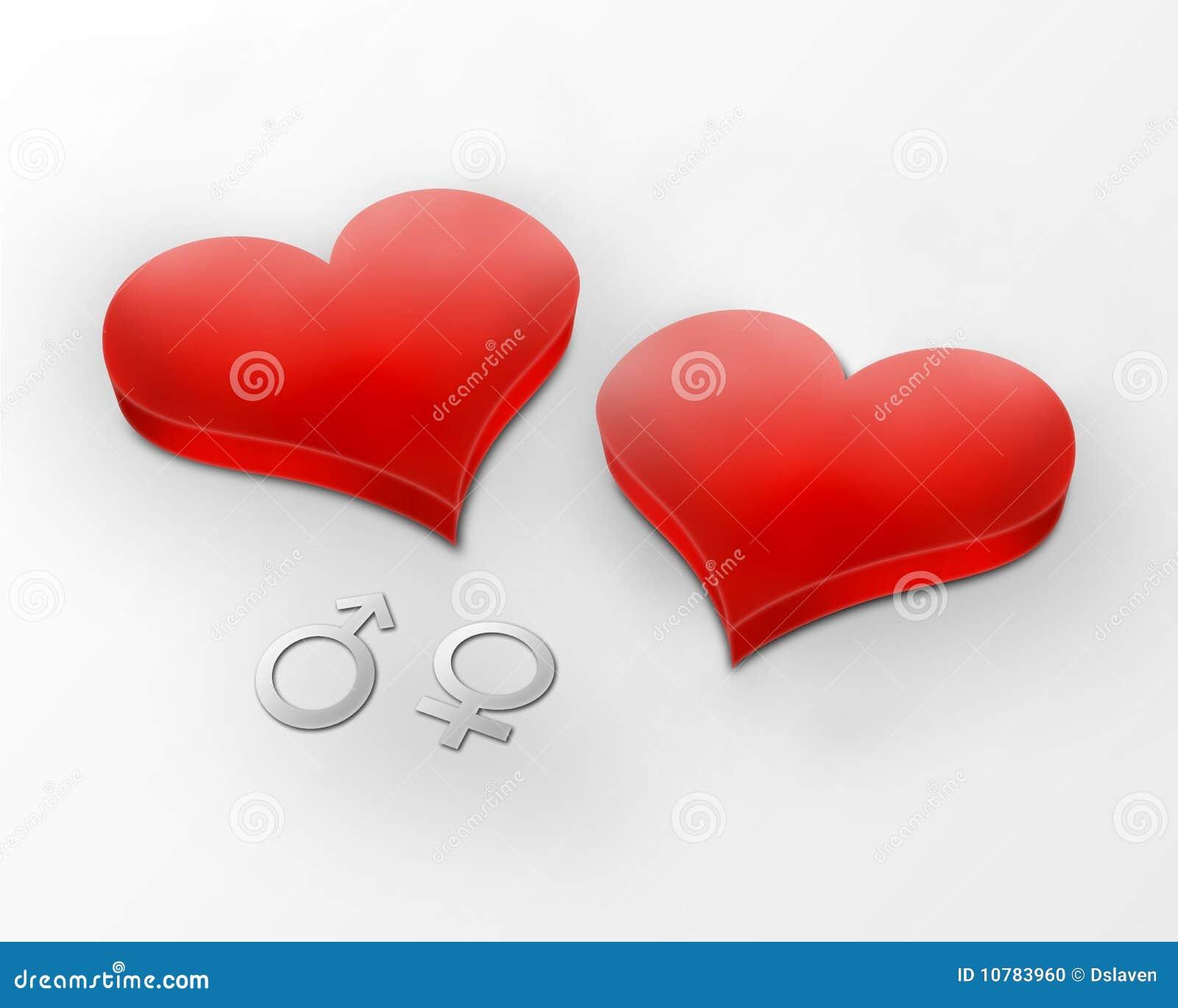 Human Hearts Sewn Together