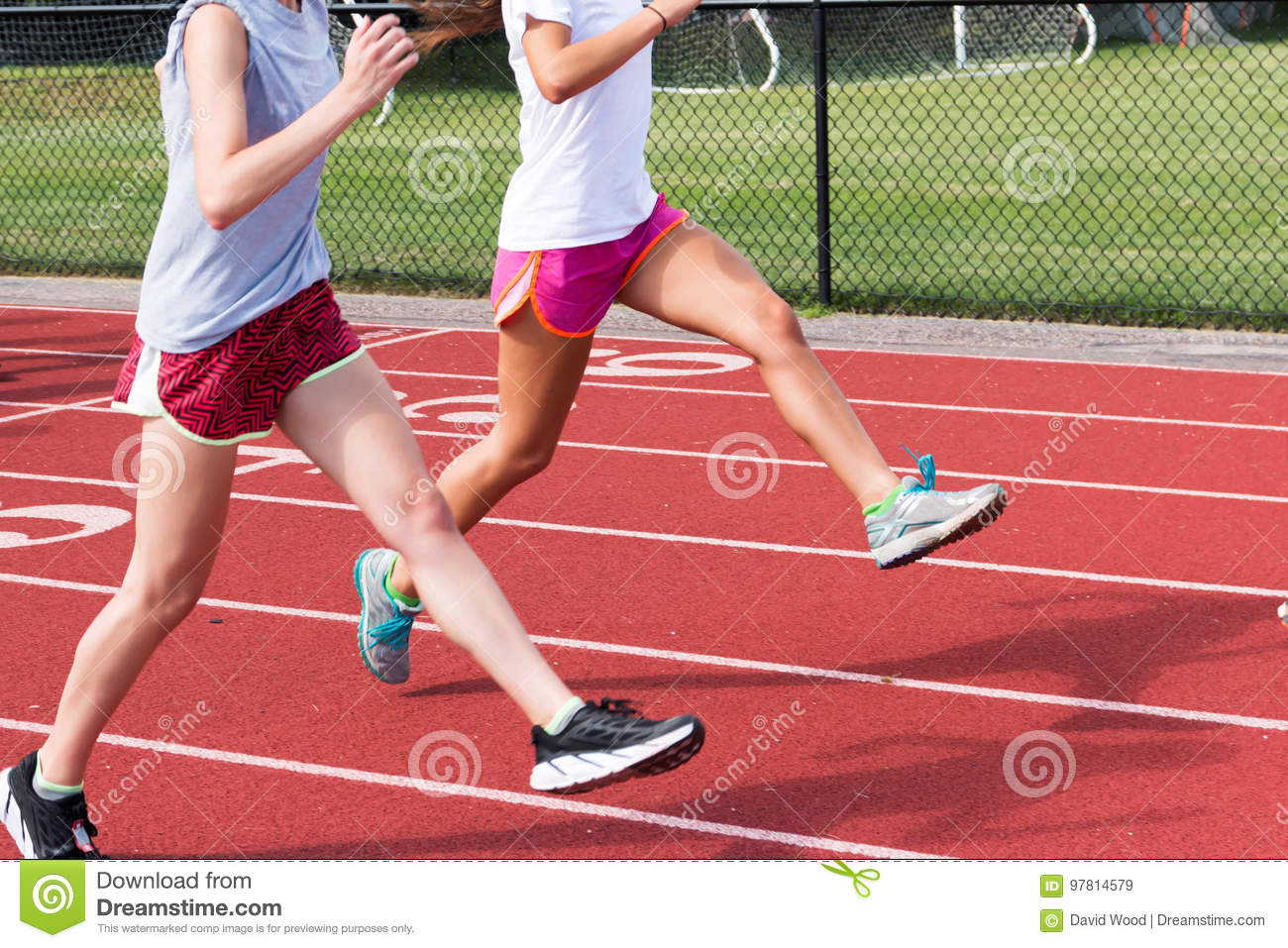 You girls legs track and field