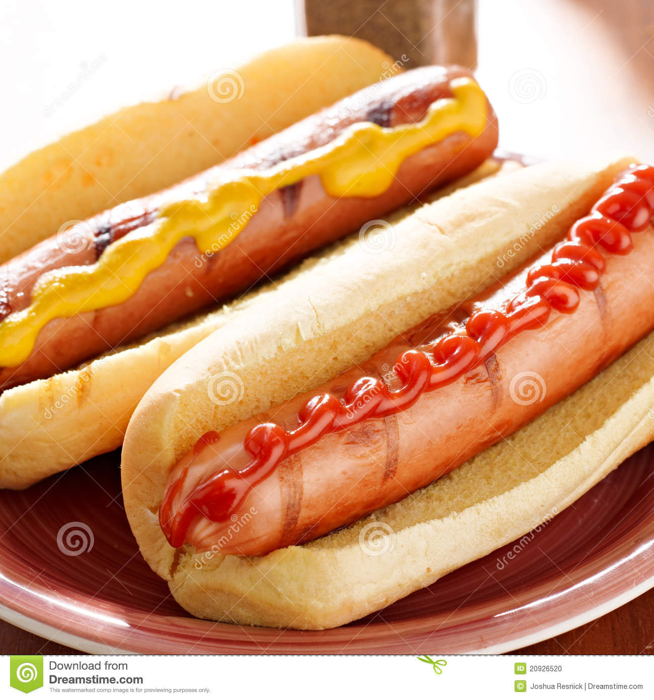 Hot Dogs Ketchup Or Mustard