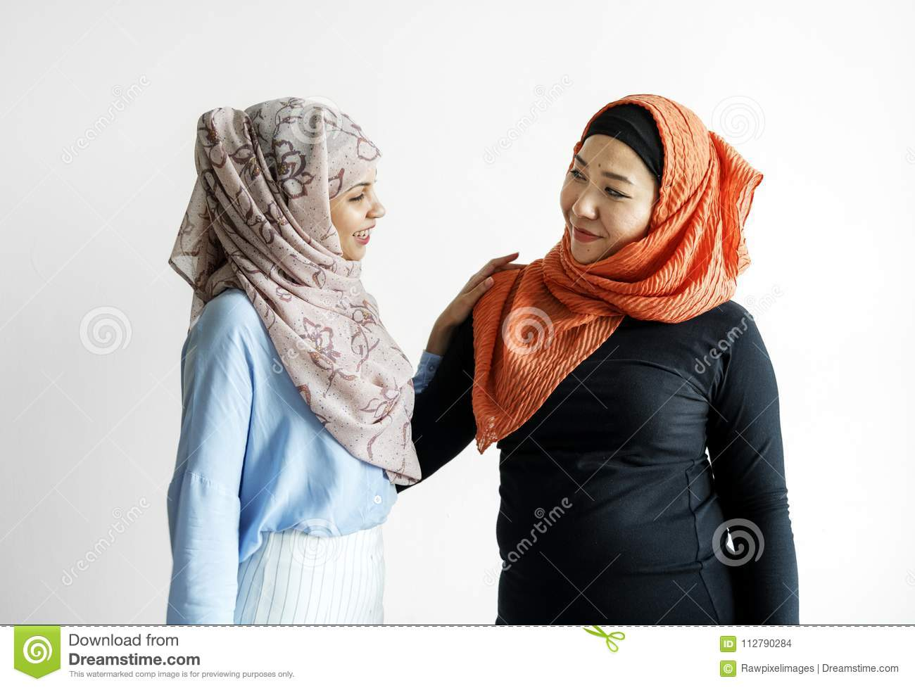 Two of islamic friends talking and greeting stock photo image of two of islamic friends talking and greeting m4hsunfo