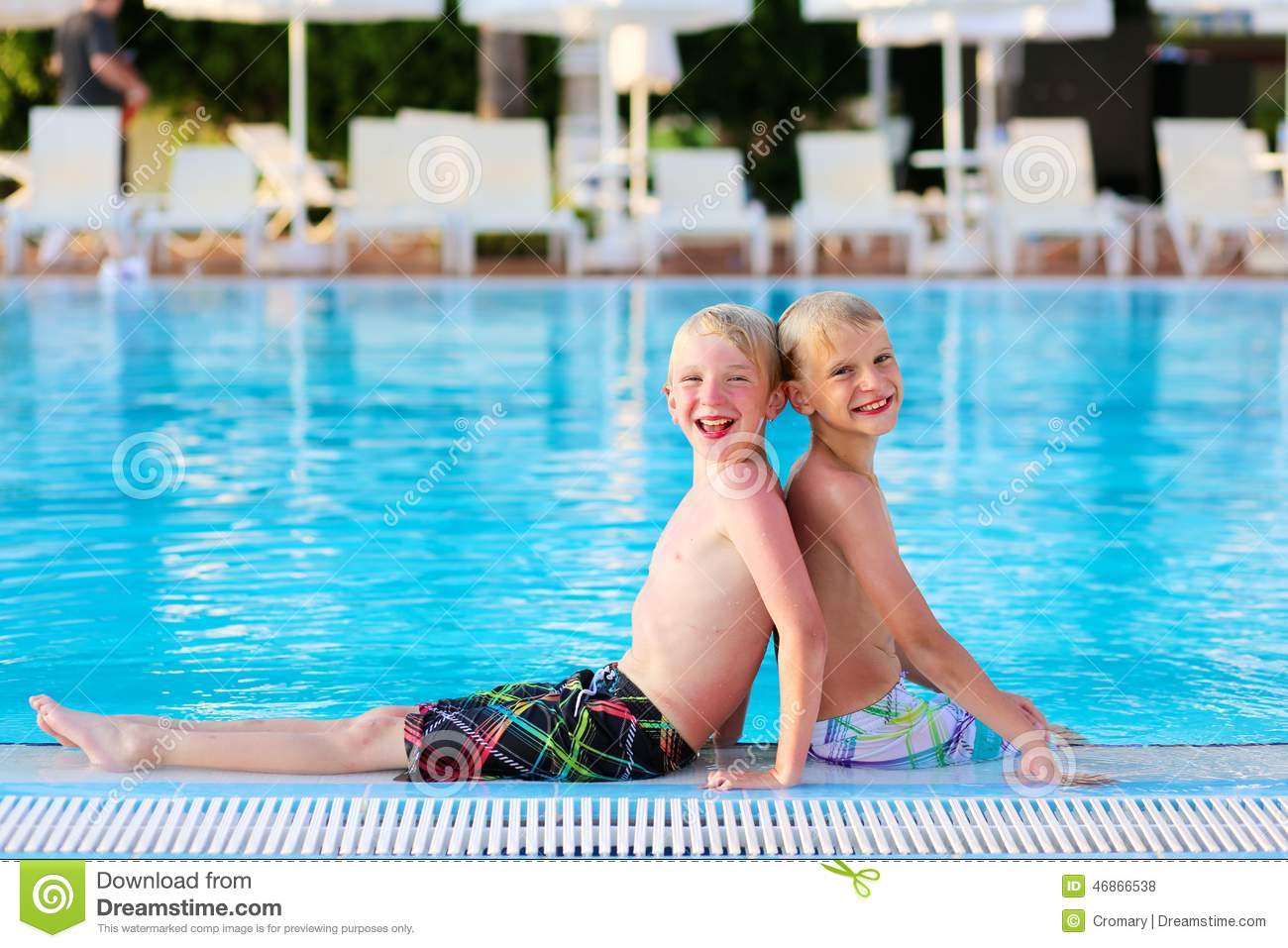 Permalink To Cute Boy In Speedos Near The Pool