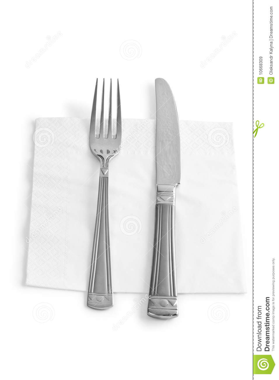 kitchen forks and knives two kitchen utensils fork and knife isolated royalty free stock images image 10668309 2782