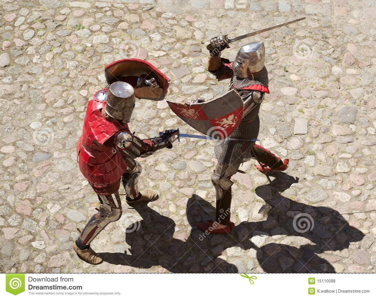 Pictures Of Knights Fighting Paintings
