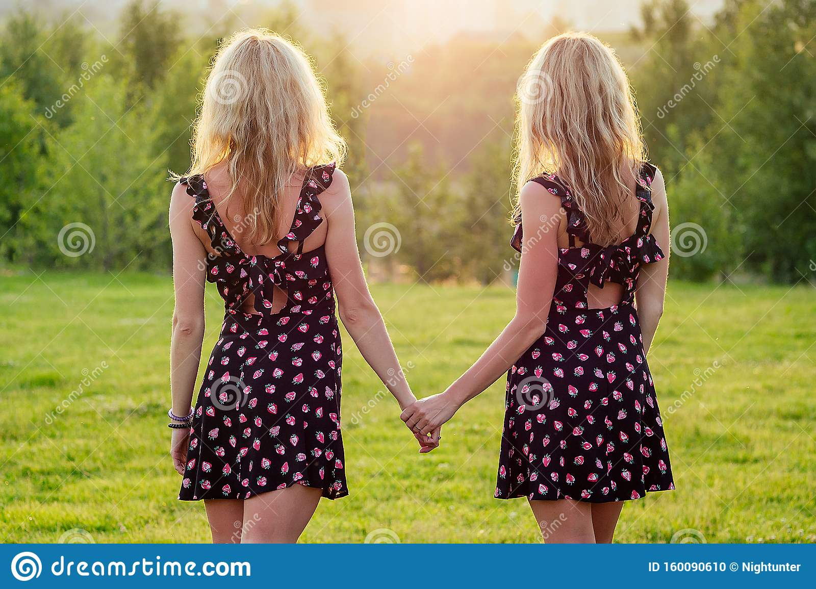 Sisters lesbian twin Behind Closed