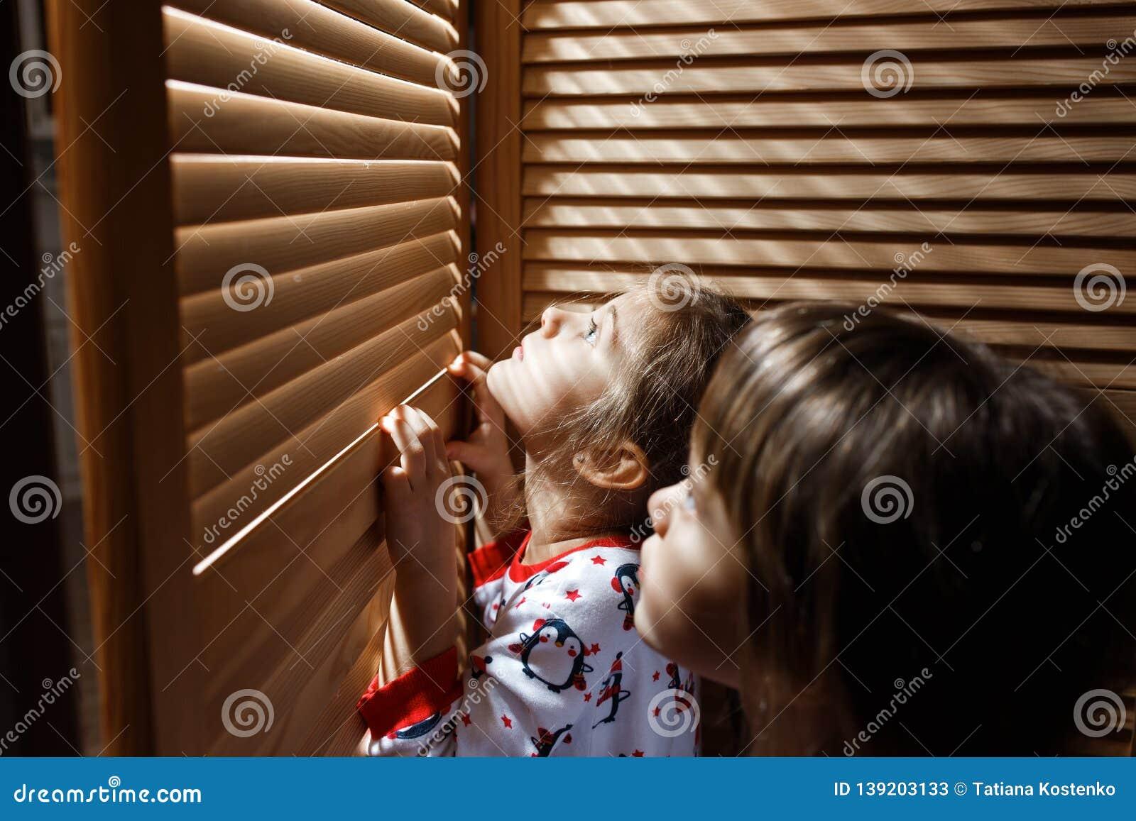 Mofos - sisters friend hiding in closet
