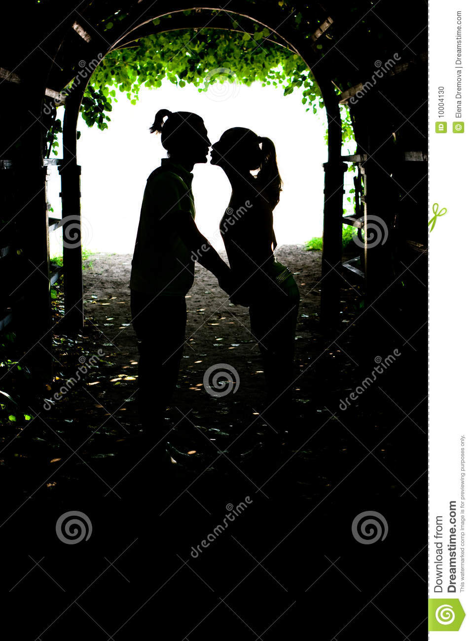 Two lovers kissing stock photo image 10004130 for 2 lovers pic