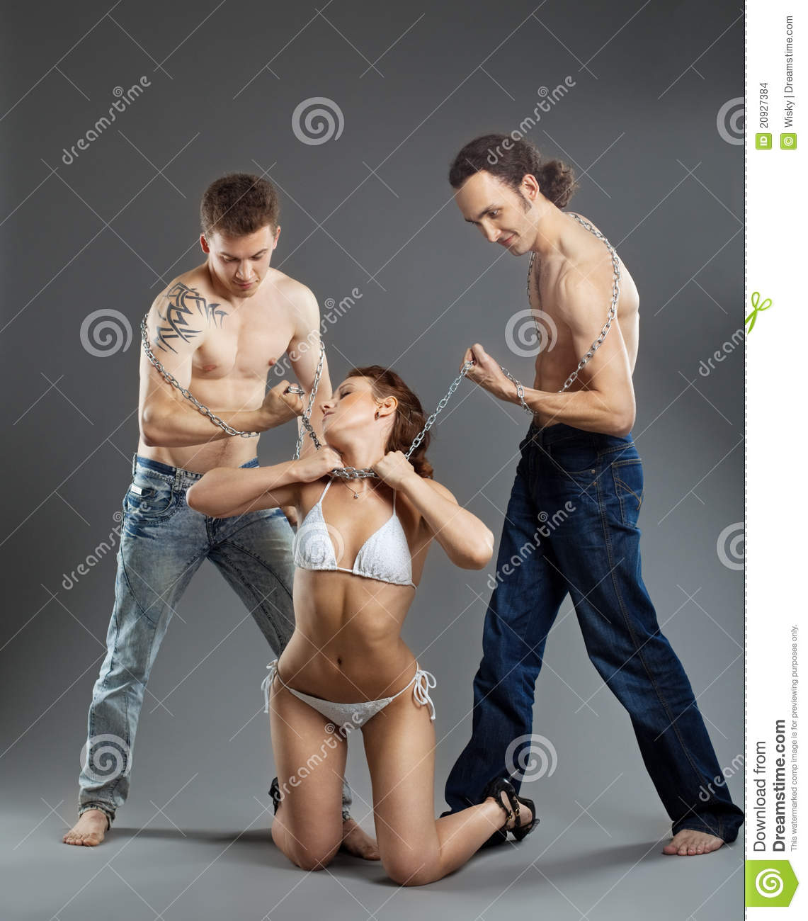 Men on men bondage